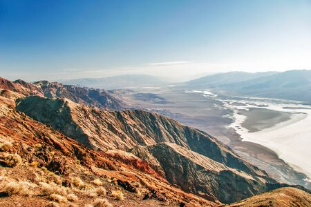 View on landscape of the Death Valley  Dantes view  California  USA  Stock Photo - 16217069