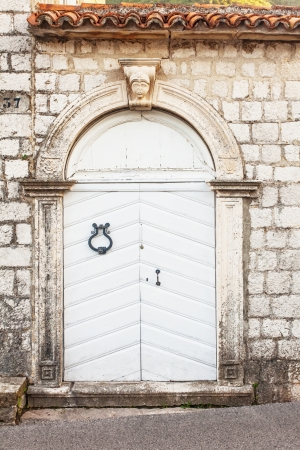 close-up image of ancient wooden door Stock Photo - 16217094