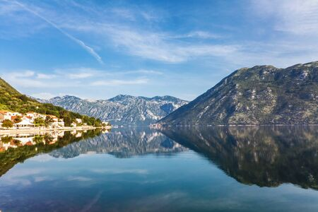 Nice mountain and sea view  Kotor  Montenegro Stock Photo - 16729250