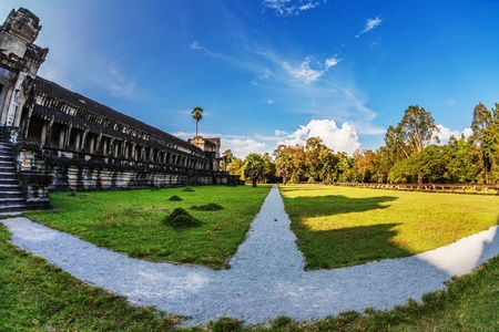 Angkor Wat Temple, Siem reap, Cambodia.  Stock Photo - 17195881