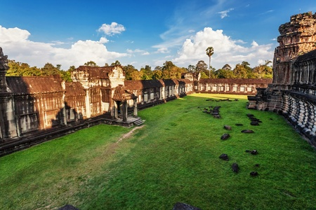 Angkor Wat Temple, Siem reap, Cambodia   Stock Photo - 17195882