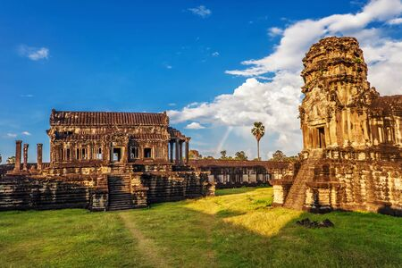 Angkor Wat Temple, Siem reap, Cambodia   Stock Photo - 17195870