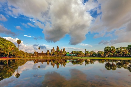 Angkor Wat Temple, Siem reap, Cambodia   Stock Photo - 17195866