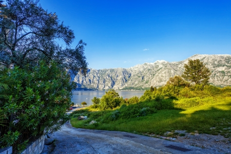 Nice mountain and sea view  Kotor  Montenegro Stock Photo - 18152230