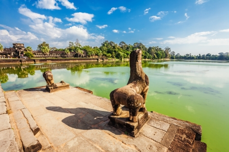 Angkor Wat Temple, Siem reap, Cambodia.  Stock Photo - 18910699
