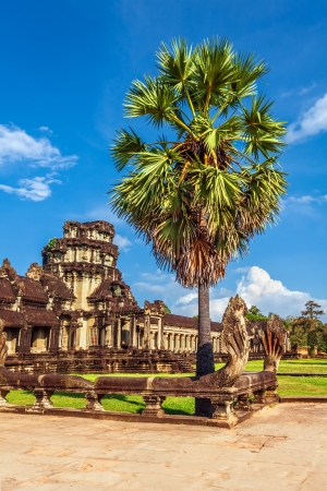 Angkor Wat Temple, Siem reap, Cambodia. Stock Photo - 18910815