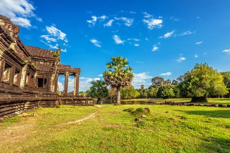 Angkor Wat Temple, Siem reap, Cambodia.  Stock Photo - 18910825