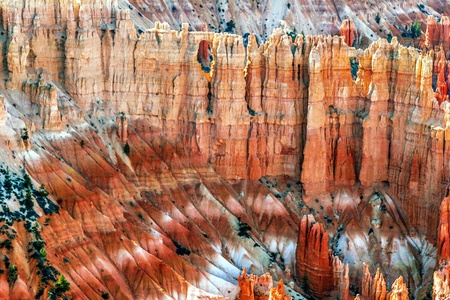 View from inside of Bryce Canyon  Utah  USA Stock Photo - 18918136