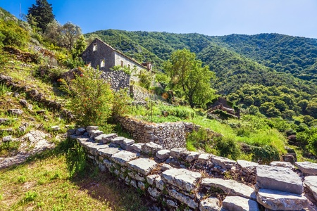 Old house in the mountains  Montenegro Stock Photo - 19324122