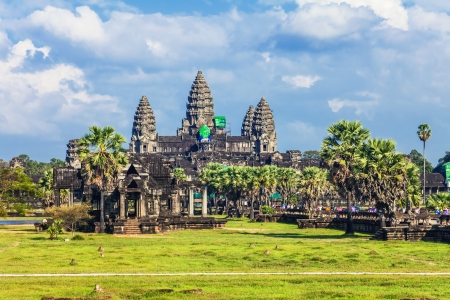 Angkor Wat Temple, Siem reap, Cambodia   photo