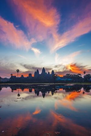 Angkor Wat sunrise at Siem Reap  Cambodia photo