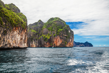 phi: Islands in Andaman sea near Phi Phi islands. Thailand Stock Photo