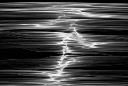 silver backgrounds: Digital abstract fractal background generated at computer in black and white. Stock Photo