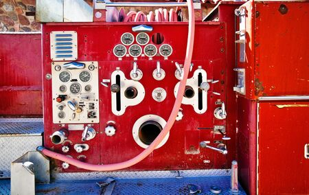 death valley: Fragment of old fire truck in Death Valley. California. USA