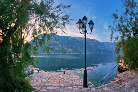 seafronts: seafront with sea and mountain views.  Montenegro