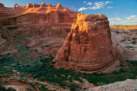 Beautiful Delicate arch in Arches National Park, Utah, USA
