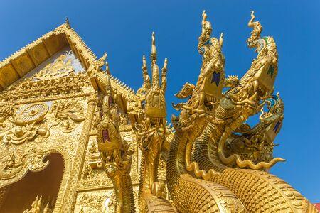 Wat Sri Phanton Buddhist Temple in Nan Province Northern Thailand