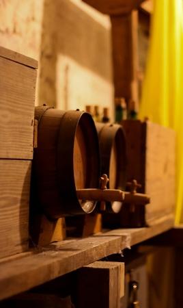 Antique Beer Kegs