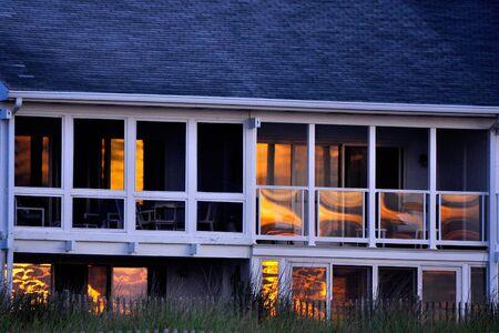 dewey: Beach House, Sunrise 1