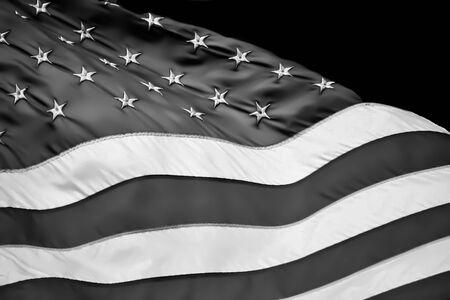 the u s  flag: Flag 4-bw