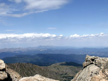 mount evans: Mount Evans Summit Overlook
