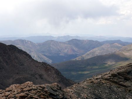 mount evans: Mount Evans Summit