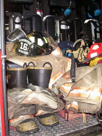 Firefighters Tools Of The Trade