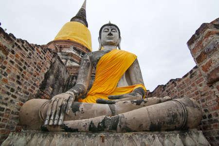 Buddha at Ayuttha Historical Park, Thailand
