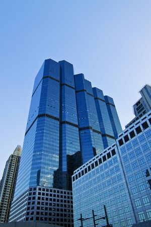 business area , buildings in the city of bangkok  Stock Photo