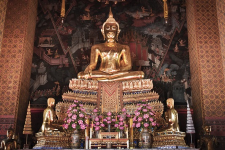 Beautiful Buddha image in Thailand Stock Photo - 11714612