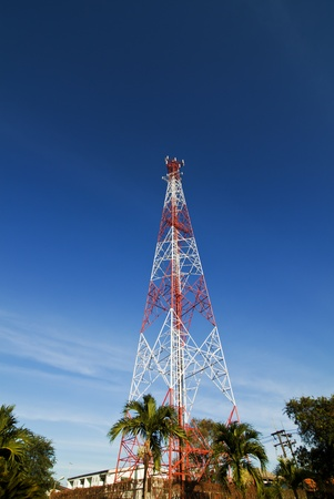 Communication tower  photo