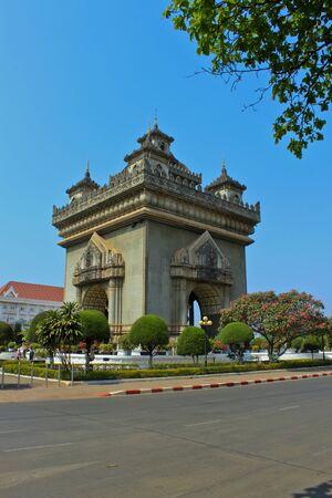 Triumphal arch at lao