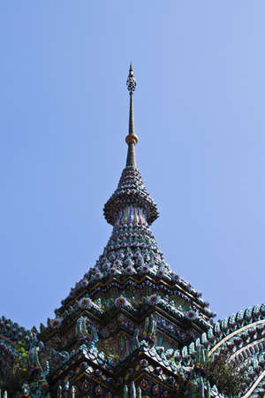 Authentic Thai Architecture in Wat Pho,Thailand