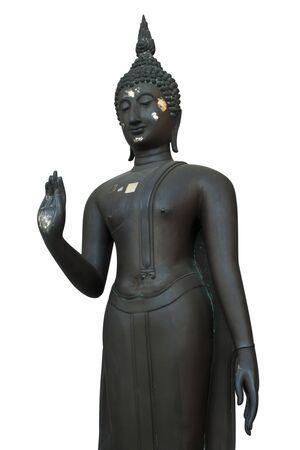 Black Buddha statues