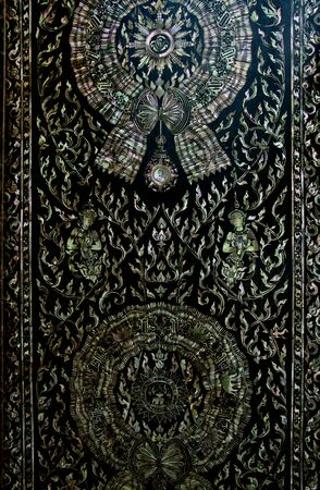Traditional Thai style pattern in thailand