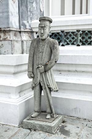 Stone dolls in Bangkok, Thailand.