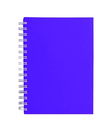Purple color Cover Note Book  photo