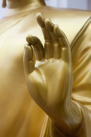 Hand of Buddha image  photo