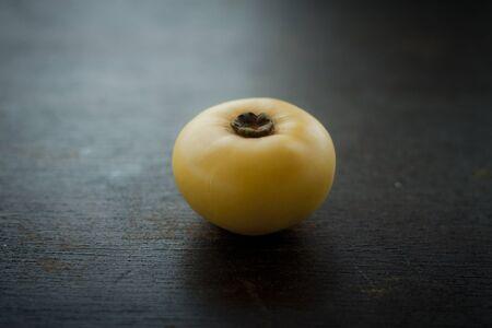 ebenaceae: sharon fruit on  background