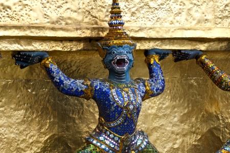 garuda sculpture at Royal Palace, Bangkok,Thailand