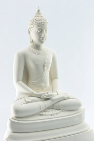 Statue of Buddha isolated