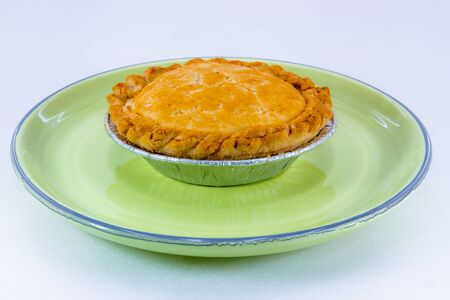 pie with flaky pastry Stock Photo