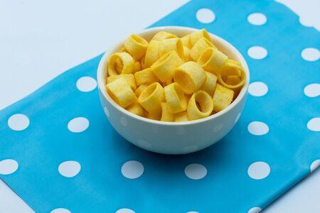 ridged: Potato rings snack