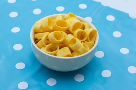 Potato rings snack