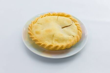 Pie with flaky pastry Stock Photo