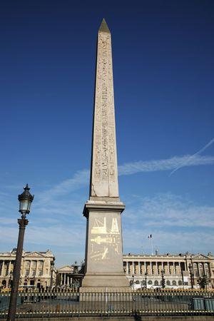 taper: Ancient obelisk on Place de Concorde, Paris