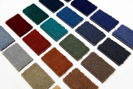Samples of color of a carpet covering Stock Photo - 4577281