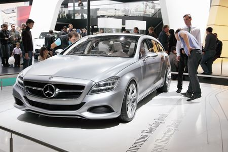 mercedes: MOSCOW - SEP 5: Mercedes , Moscow international motor show 2010 on September 5, 2010 in Moscow, Russia