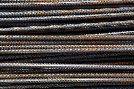 corrode: steel reinforcement bar