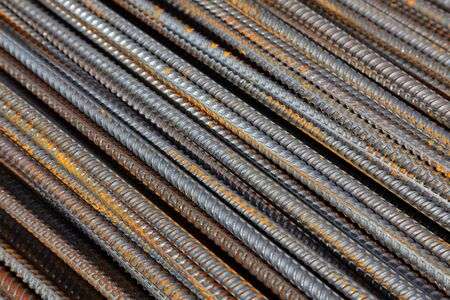 corrode: reinforcement bar Stock Photo